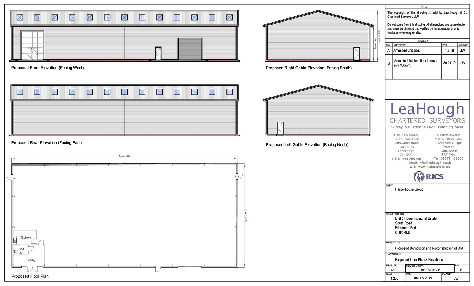 Planning Approval Industrial Unit
