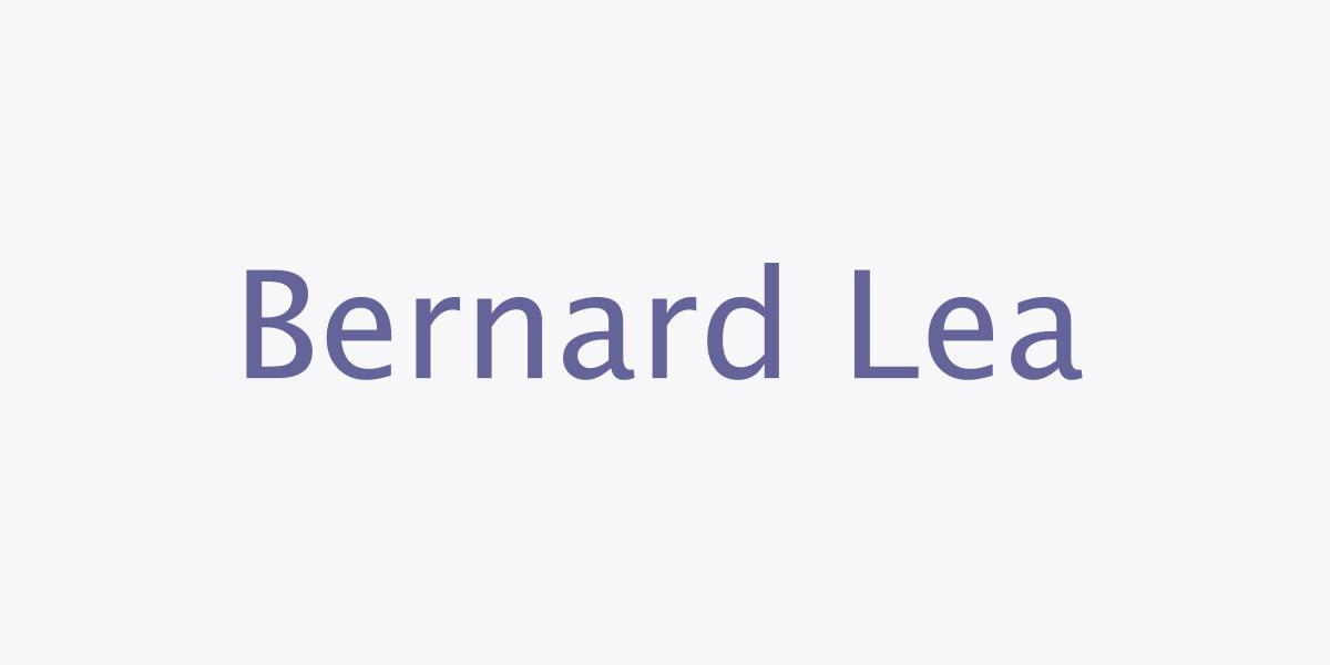 Bernard Lea